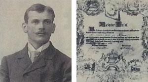 Johann Voss, Gründer des Familienbetriebs