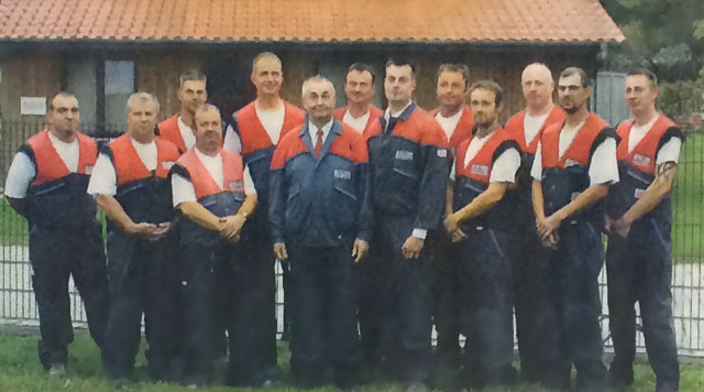 Unser Dachdecker-Team